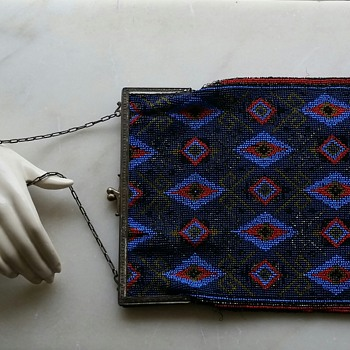 Early 20th century beaded handbag - Bags