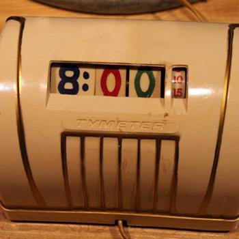 Pennwood Numechron/Tymeter Model 105, October 1957 - Art Deco