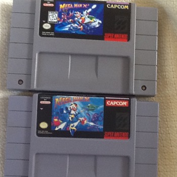 For video game lovers. SNES games