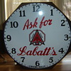1930's Shonbeck Clock Co.  Hamilton, Ont., for Labatts Beer!
