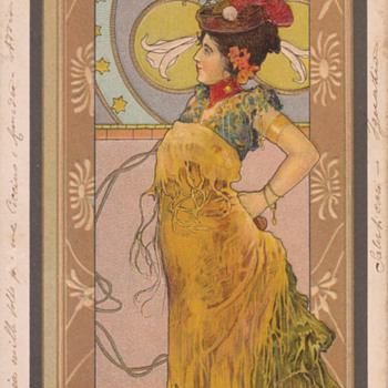 L' Espagnole Series by Árpád Basch  - Art Nouveau