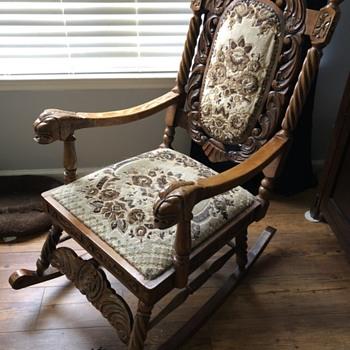 Turkish Rocker  - Furniture
