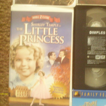 two Shirley Temple movies called Little Princess & Dimples