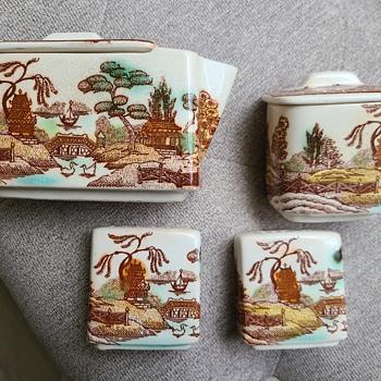 Vintage Creamer set?  - Asian