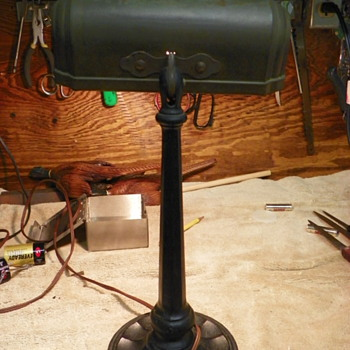 Antique Desk Lamp by Greist Mfg. Co. - Lamps