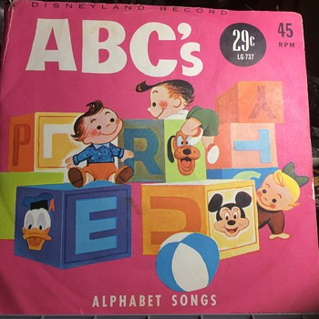 """Here you go kid """"Hears """" $.29 ,,,,go get a record , thanks Uncle oTTo ! - Advertising"""