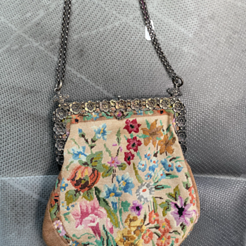 Can anyone help me identify this vintage embroidery purse? - Bags