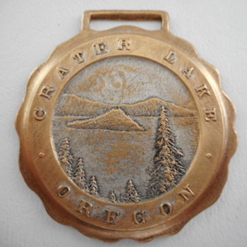 Crater Lake Pocket Watch Fob - Pocket Watches