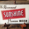 Sunshine Beer Glass ROG Sign