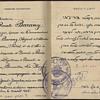 1956 Israeli diplomatic passport