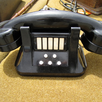 Mystery Art Deco Extension Handset/Telephone - Telephones