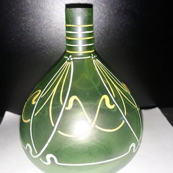 Moser Art Nouveau  Perfume glass bottle? - Art Glass