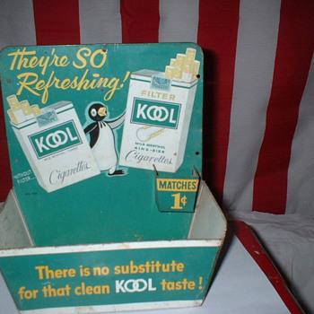 Kool Match holder - Advertising
