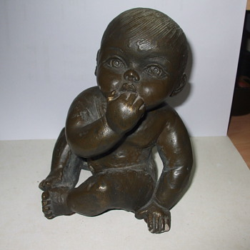 Baby Statue - Pottery