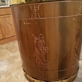 Some kind of drum brought back to states by my parents before I was born. - Asian