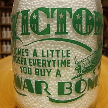 Wells & Lassiter Quart (Jackson, Tenn.) War Slogan....... - Bottles
