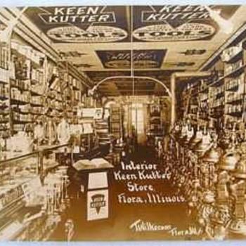1909 Keen Kutter RPPC Postcard Photo