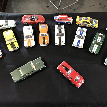 Collection of slot cars  - Model Cars