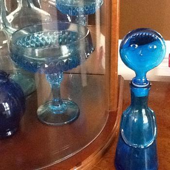 Blue bottle person - Bottles