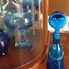 Blue bottle person