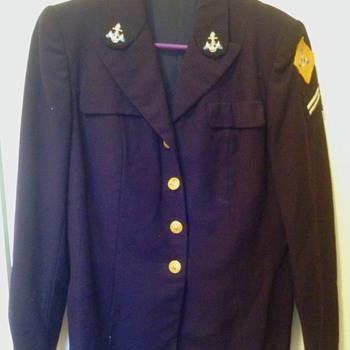 Navy W.AV.E.S. trainee uniform - Military and Wartime