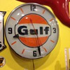 Gulf Pam clock