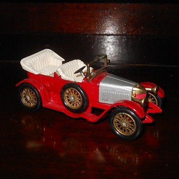 Manical Mechanical Matchbox Monday 1914 Prince Henry Vauxhall Y-2 Yesteryear 1971 - Model Cars