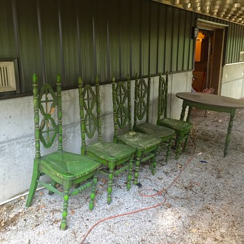 Kosuga table and chairs  - Furniture