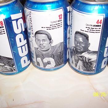 Nebraska 1971 Championship Pepsi Cans
