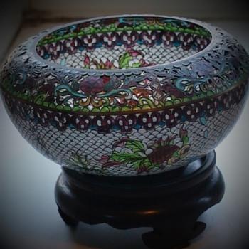 Pique-A-Jour Bowl - Art Glass