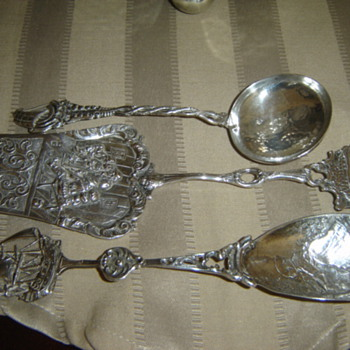 Sterling silver spoons! - Silver