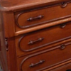 Walnut wishbone dresser- unusual handles