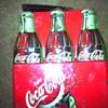 Metal coca cola lunch box
