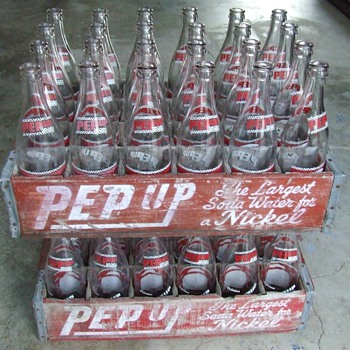 PEPUP Soda~Dragon Bottling Works~San Antonio - Bottles