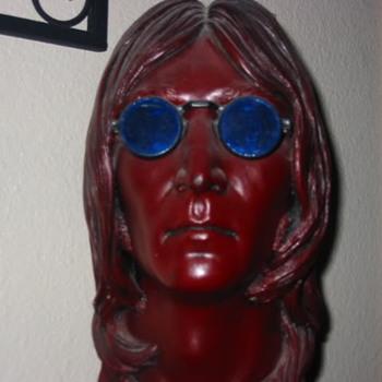 John Lennon head - Music Memorabilia