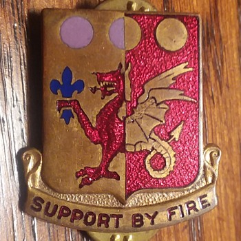 95th Armored Field Artillery BN DUI - Military and Wartime