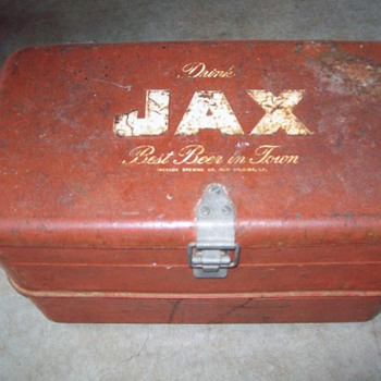 Jax Beer Ice Chest - Breweriana