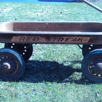 Rusty Red Streak Wagon - Sporting Goods