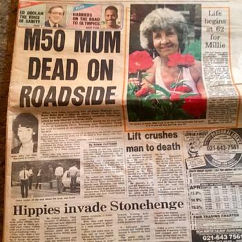 Birmingham evening mail, 21st June 1988. - Paper
