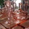 Vintage perfume vanity set