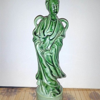 Rare Vintage Chinese Gwan Yin - Asian