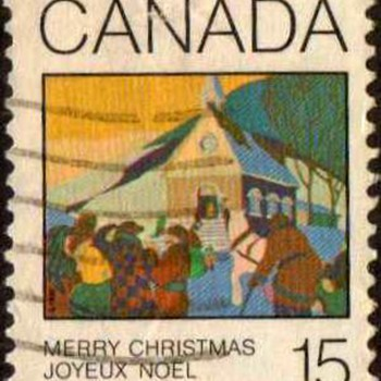 "1980 - Canada ""Christmas"" Postage Stamp"