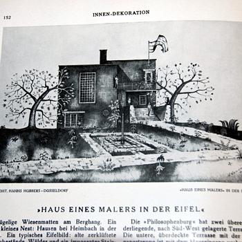 1930 German Magazine on Design/Interior decorating - Innendekoration - Paper