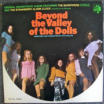 Beyond the Valley of the Dolls LP - Records