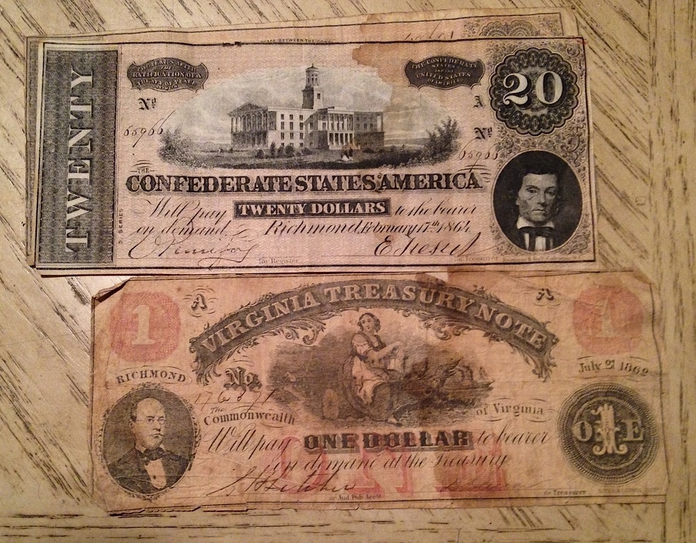 Confederate currency, and foreign old money   Collectors Weekly