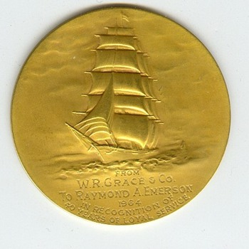 W.R. Grace & Company Long Service Medals - Advertising