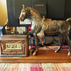 1950's Tele-Vision (Pennwood) Western Themed Clock with Horse