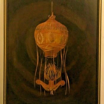 """French Balloon"" by Frank Caldwell (1911-1996, California, USA)    - Fine Art"