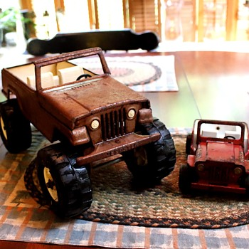Tonka Jeeps... - Model Cars