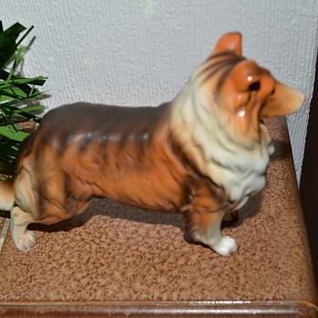 Collie dog figurine - Figurines